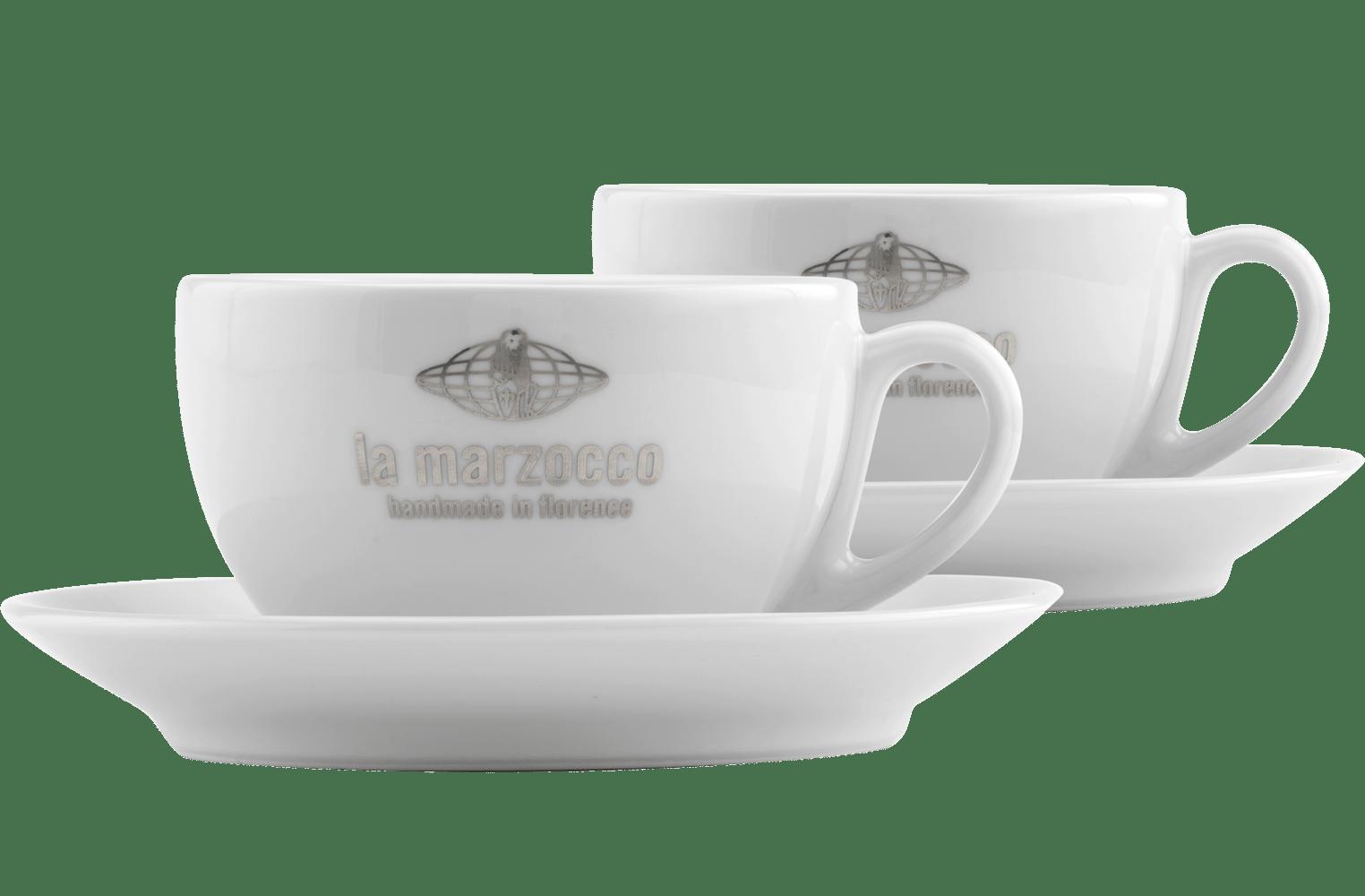 la marzocco latte cups set of 2 la marzocco