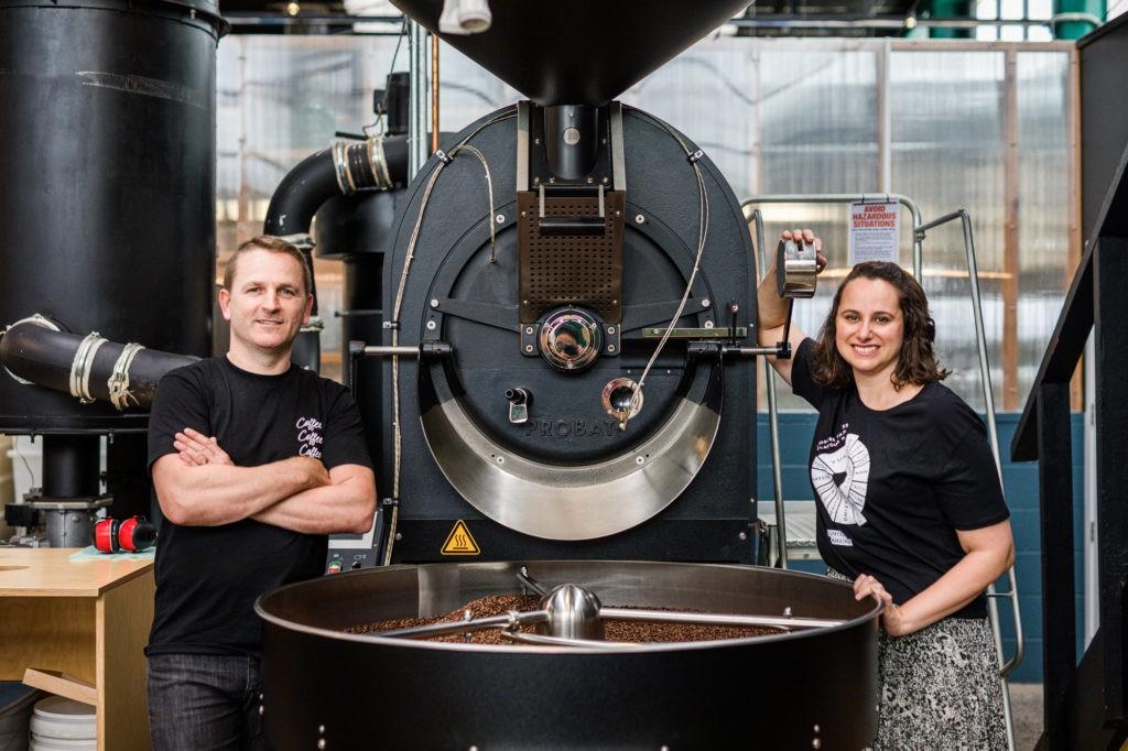 cris fuzaro and andrew smart espresso workshop