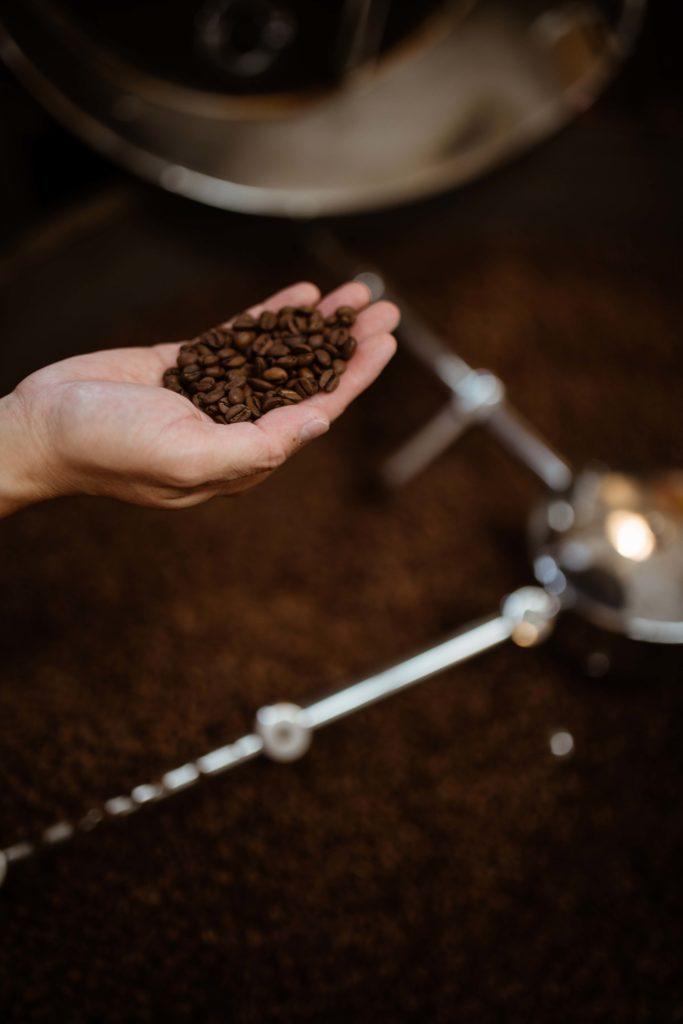 grey roasting co coffee beans