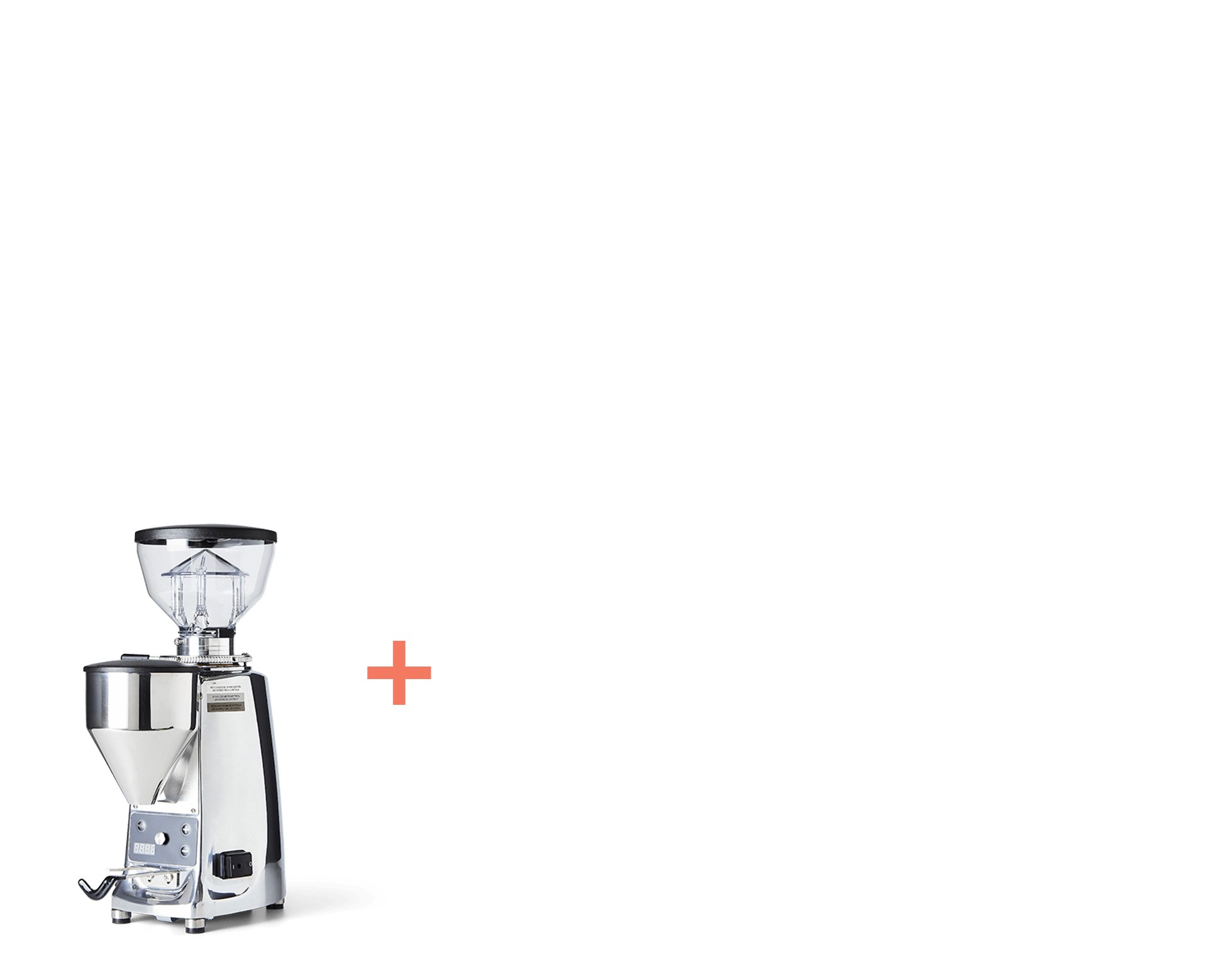 Mazzer Mini Stainless composite