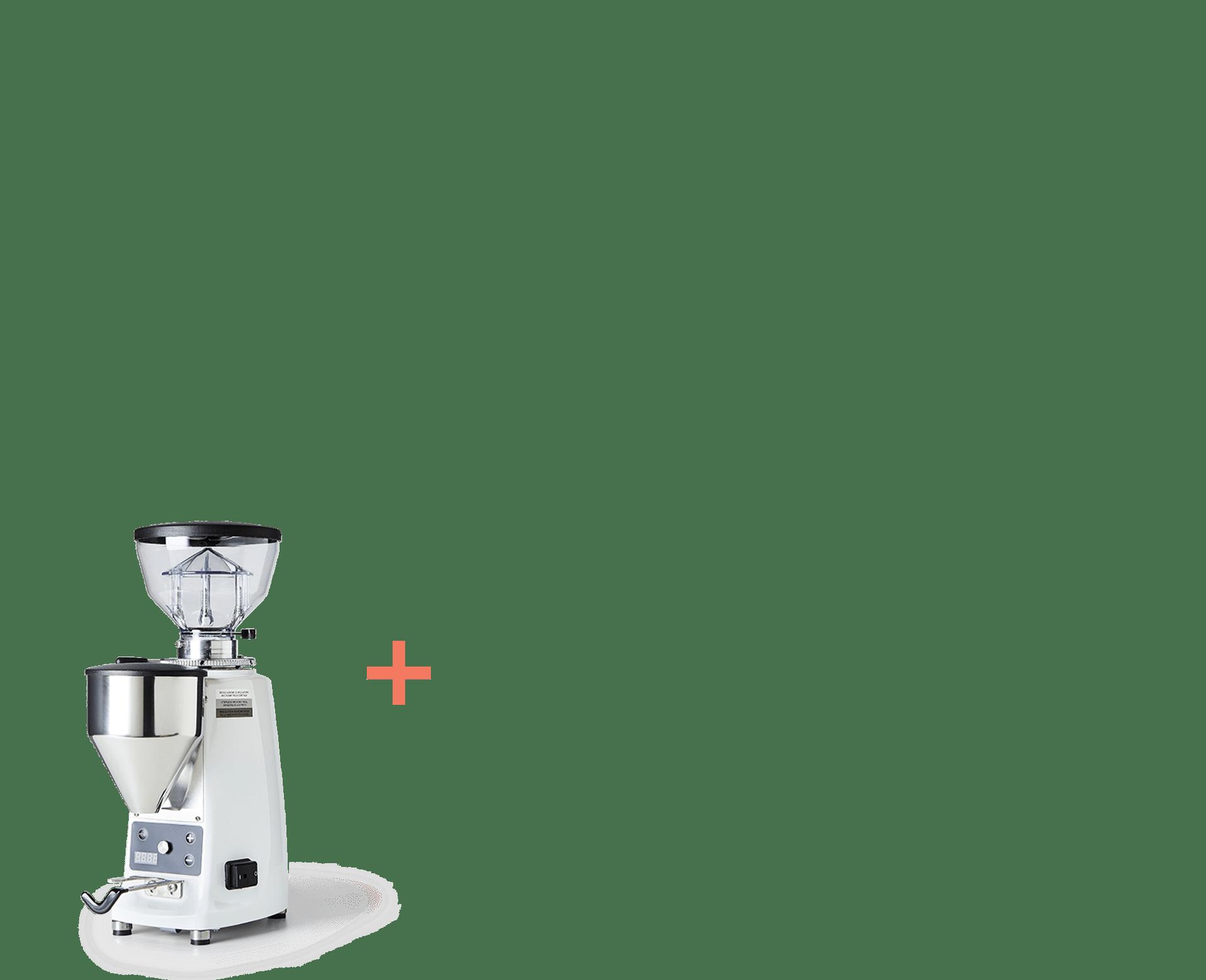 mazzer mini white composite